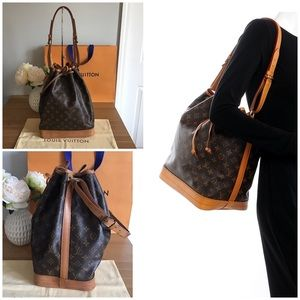 🛍LOUIS VUITTON Noe Monogram GM Bucket Bag👜